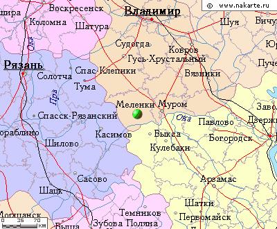 Меленки, город (с 1778),